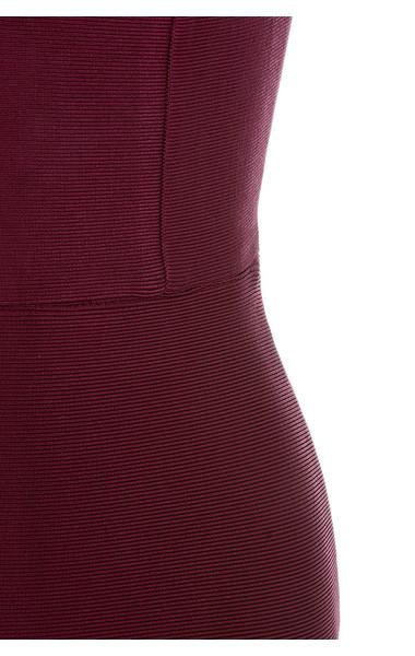 wine fabrizia dress