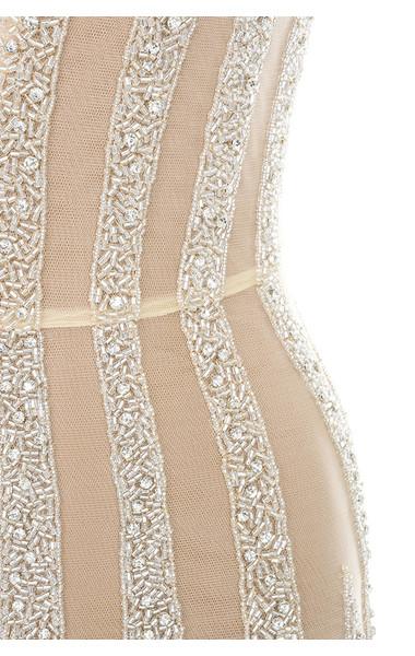 nude godiva dress