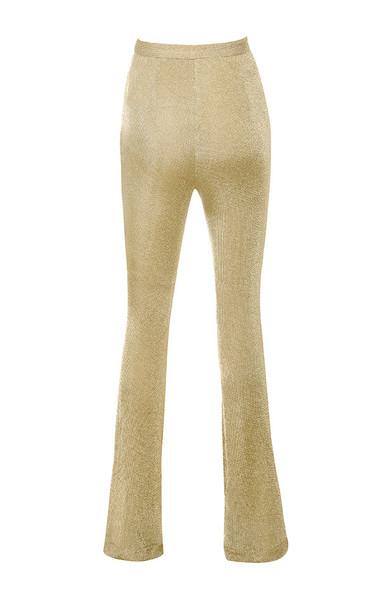 khoudia trousers in gold