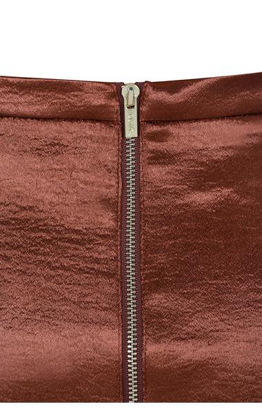 lillian copper skirt