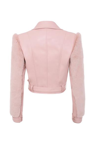 nali jacket in pink