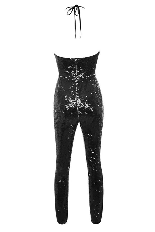reia jumpsuit in black