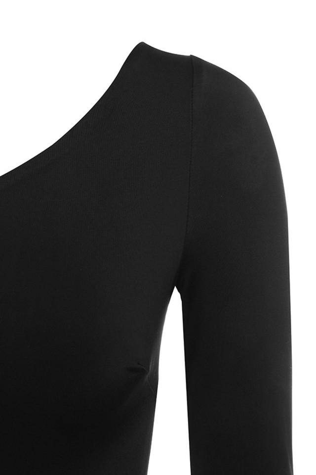 sulena dress in black