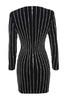 tahnia dress in black