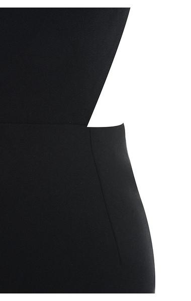 black lia dress