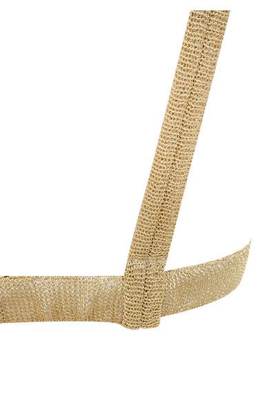 gold magda top