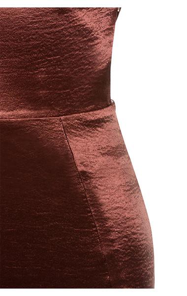 bronze nura dress