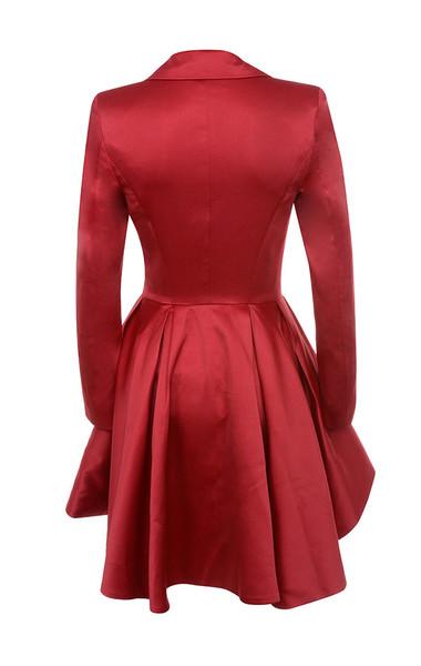simoneta dress in red