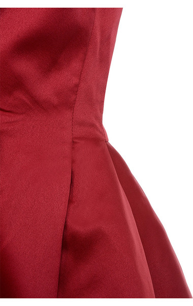 red simoneta dress