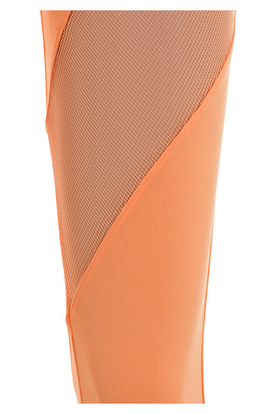 tone trousers in orange
