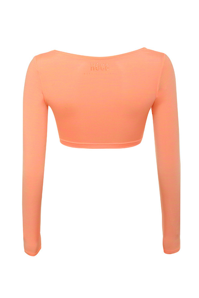 elite top in orange