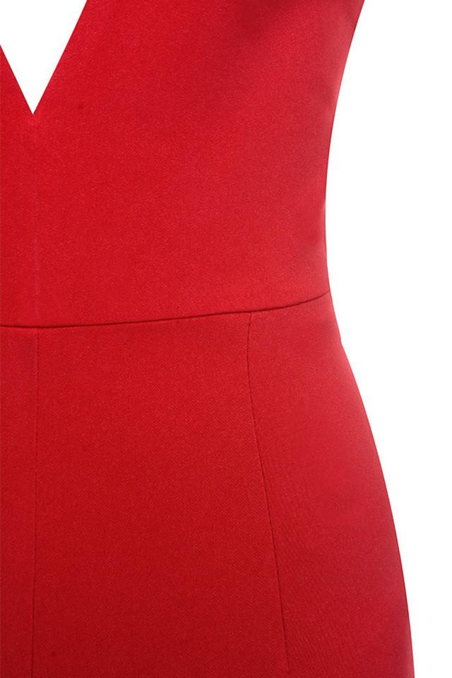 red leilah jumpsuit