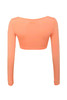 elite top in orange