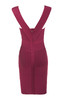 ginevra dress in wine
