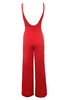 leilah jumpsuit in red