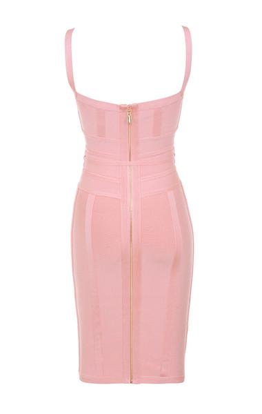 belice dress in pink