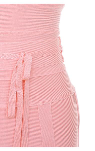 pink belice dress