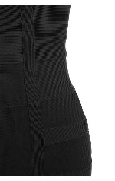 black mimi dress