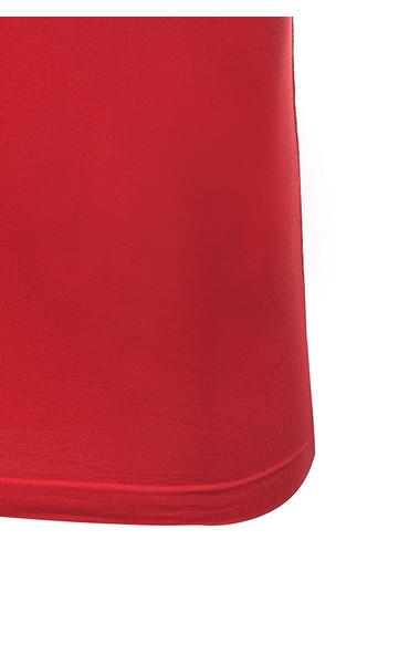 red rellana dress