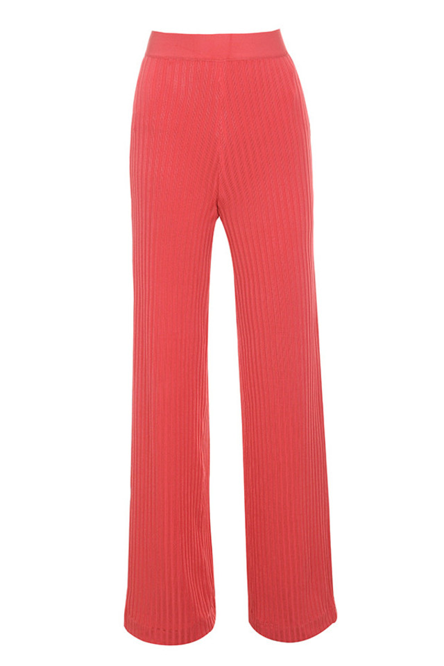 rowena trousers in coral