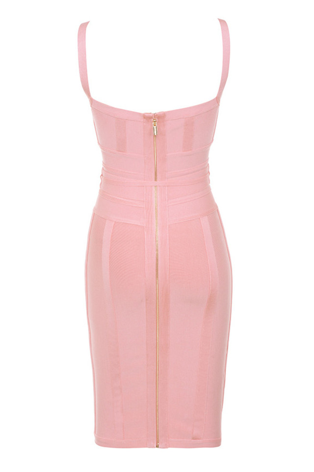 belice dress in pink