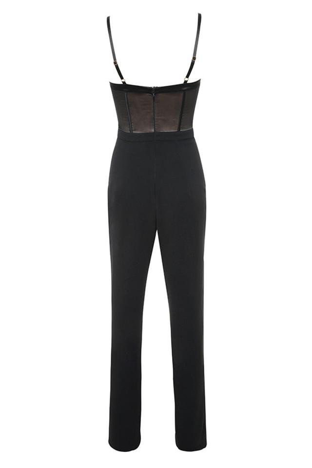 samirah jumpsuit in black