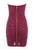 azani dress in rasberry