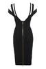 mimi dress in black