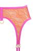 pink victoria suspenders