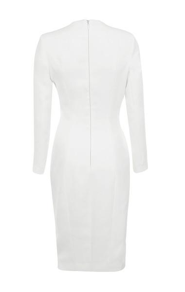 akali dress in white