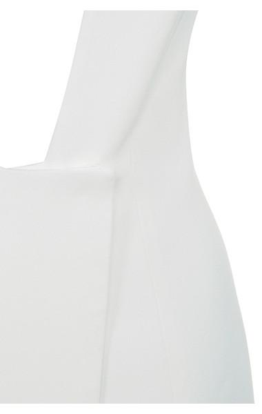 white akali dress