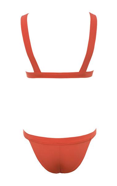 matera bikini in red