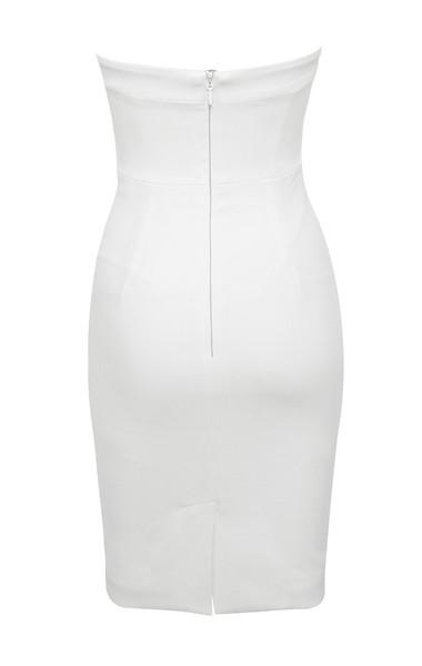 rinah dress in white