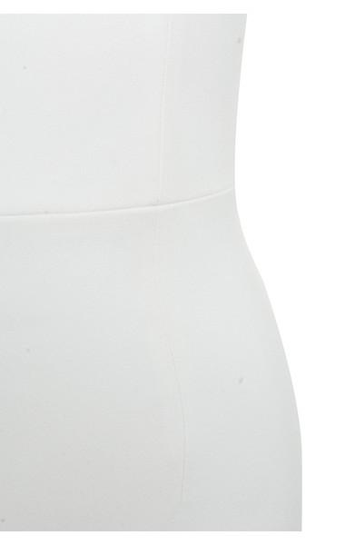 white rinah dress