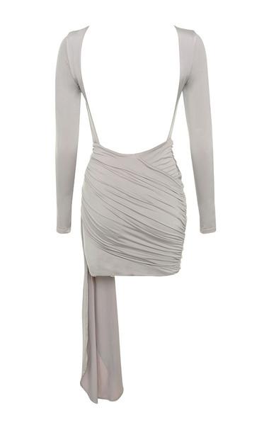 sabrina dress in grey