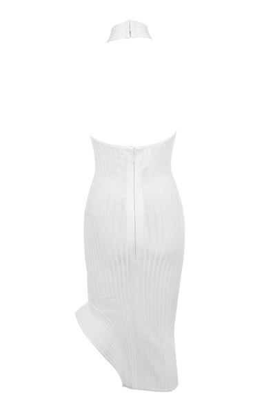 sevva dress in white