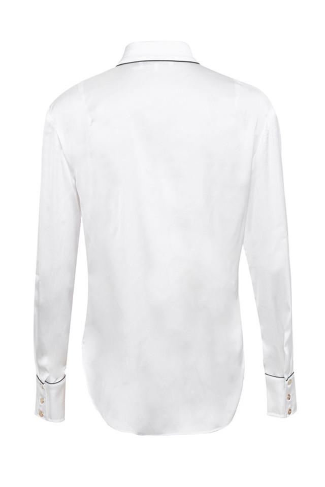 emile top in white