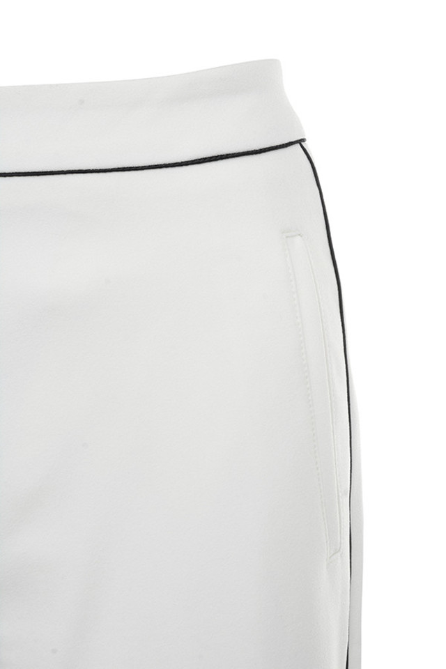 white nazan trousers
