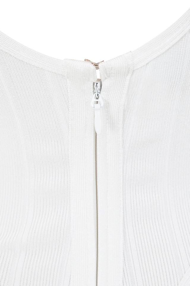 white perle bodysuit