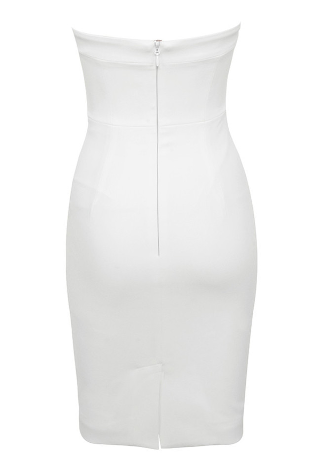 rinah dress in white