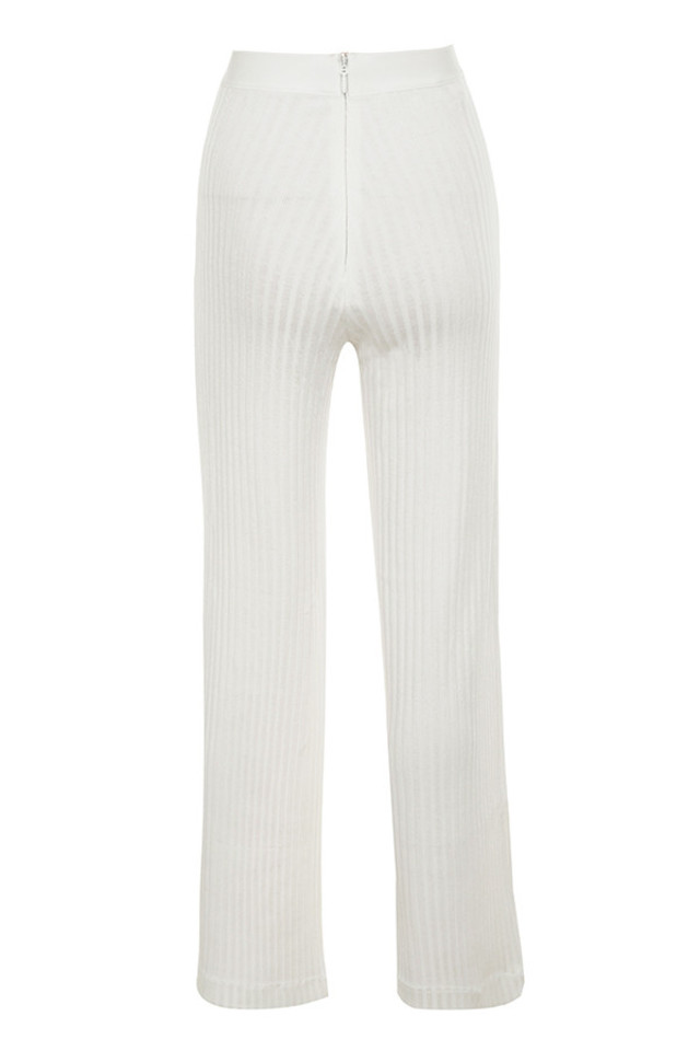 rowena trousers in white