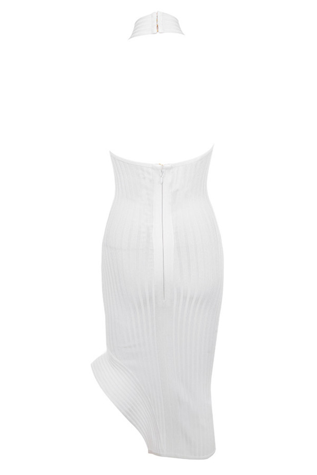 sevva dress in white