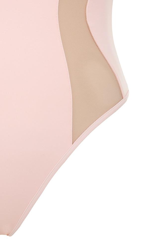 pink seychelles bodysuit