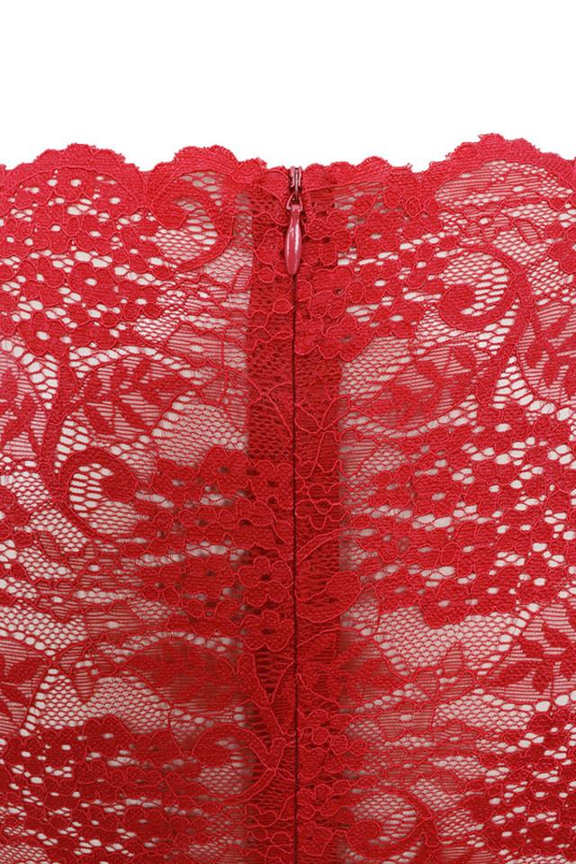 valeri red bodysuit