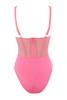 claudette bodysuit in pink