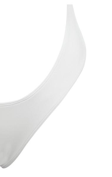white mali bodysuit