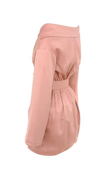mina in pink