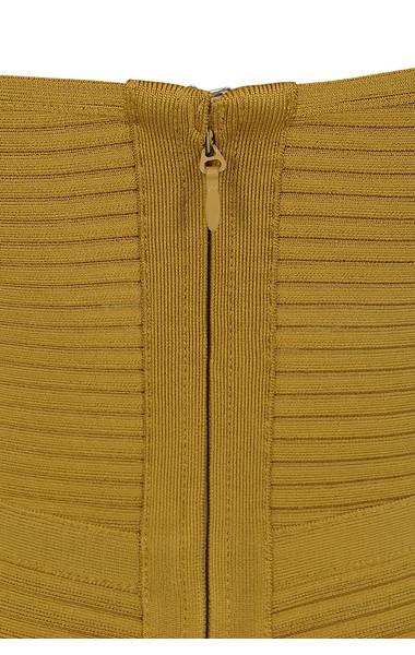 verbena mustard dress