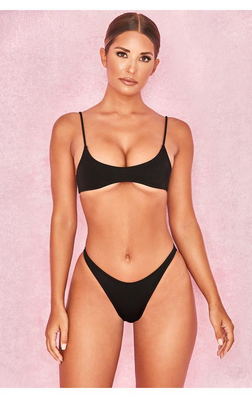 'Varese' Black Micro Bikini