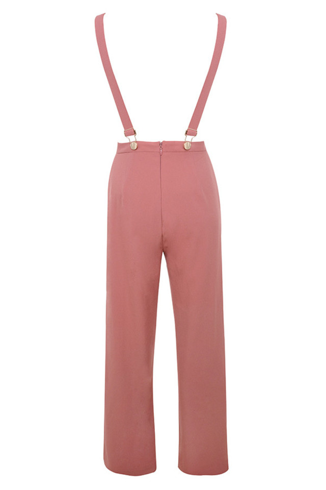 abbi jumpsuit in rose